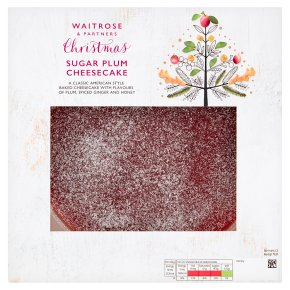 Waitrose Christmas Sugar Plum Cheesecake