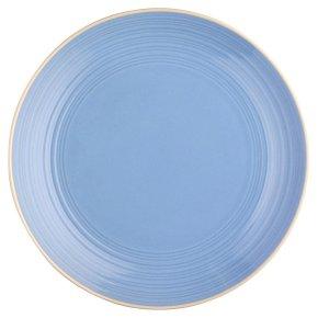Waitrose Dining Ilkley Blue Dinner Plate