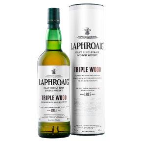 Laphroaig Triple Wood Single Malt Whisky Islay