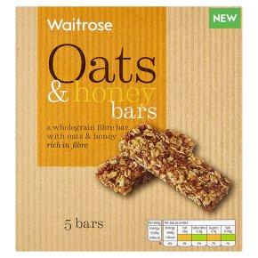 Waitrose 5 Oats & Honey Bars
