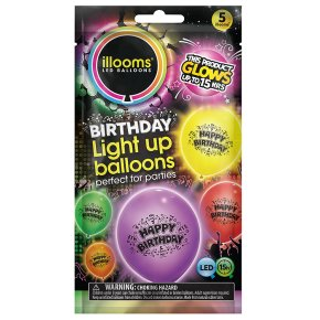 Illooms Happy Birthday Ballons