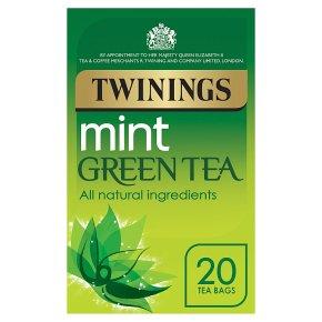 Twinings mint green tea tea 20 tea bags