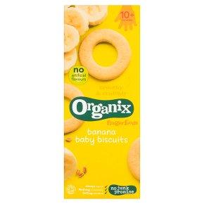 Organix banana baby biscuits