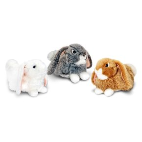 Keel Toys 25cm Laying Rabbit