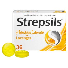 Strepsils Honey & Lemon