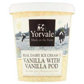 Yorvale ice cream vanilla