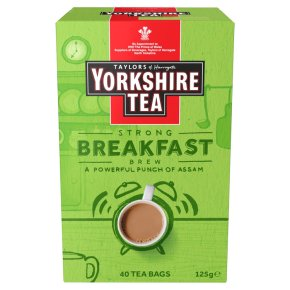 Yorkshire Tea Breakfast Brew 40 tea bags