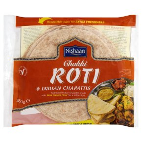 Nishaan chakki roti 6 Indian chapattis