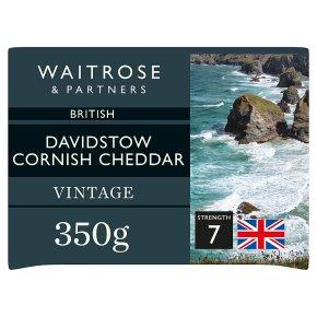 Waitrose Vintage Cornish Cheese