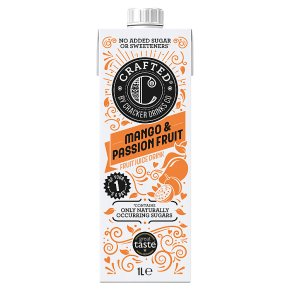 Crafted by Cracker Drinks Co. Mango & Passion Fruit Drink