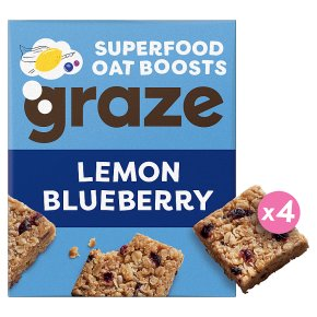 Graze Lemon & Blueberry Superfood Oat Bites