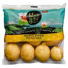 Blas y Tir maris piper potatoes