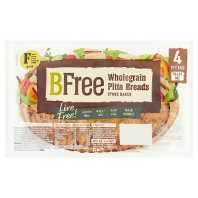BFree Wholegrain Pitta Breads