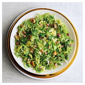 Shredded Sprouts, Chestnuts & Pancetta