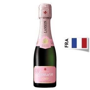 Lanson Rosé Brut NV Champagne Small Bottle