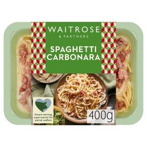 Waitrose spaghetti carbonara