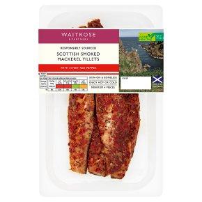 Waitrose Red Pepper Boneless Mackerel