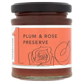 Waitrose1 Plum & Rose Preserve