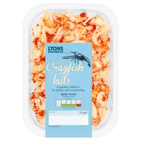 Lyons Seafood Co. Cooked & Peeled Crayfish Tails