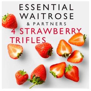 essential Waitrose Strawberry Trifles