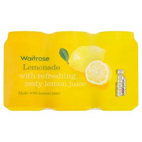 Waitrose lemonade with lemon juice