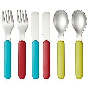 Waitrose Mini 6 Piece Cutlery set