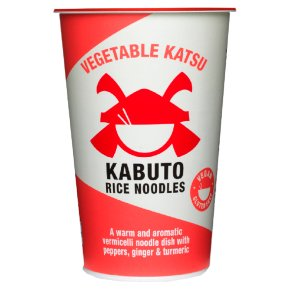 Kabuto Vegetable Katsu Rice Noodles