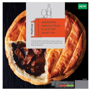 Waitrose 1 Aberdeen Angus Steak & Ale Top Crust Pie