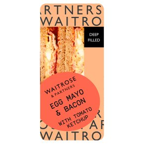 GOOD TO GO Egg Mayo & Bacon Sandwich