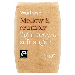 Waitrose Light brown soft sugar