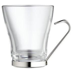 Waitrose Glass Coffee Mug