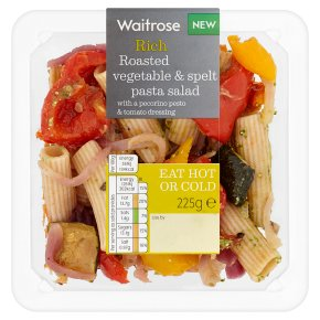 Waitrose Roasted Vegetable & Spelt Pasta Salad
