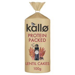 Kallo Protein Packed Lentil Cakes