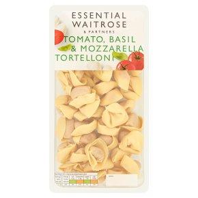 essential Waitrose tomato mozzarella & basil tortelloni