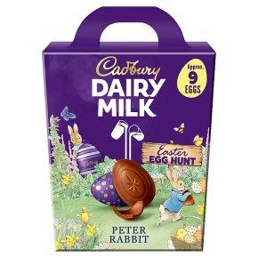 Cadbury Egg Hunt Chocolate Easter Egg Pack with Mini Eggs