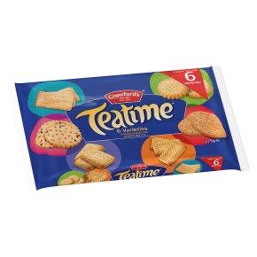 Crawford's teatime varieties