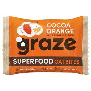 Graze Superfood Bites Cocoa & Orange