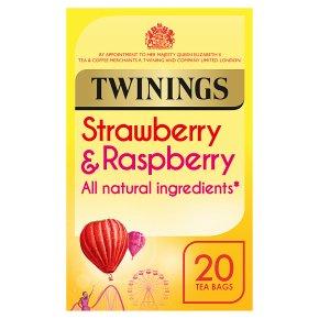 Twinings Strawberry & Raspberry Tea 20s