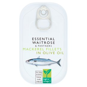 Essential Mackerel Fillets in Olive Oil