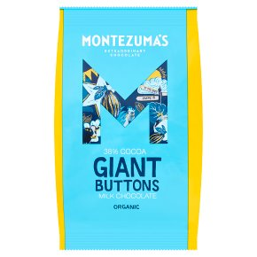 Montezuma's Milk Chocolate Giant Buttons