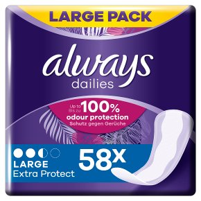 Always daily pantyliners large