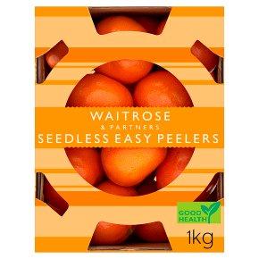 Waitrose seedless easy peelers