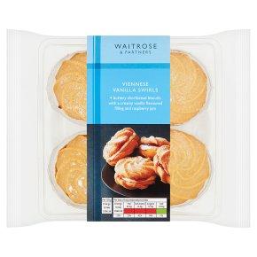 Waitrose vanilla Viennese swirls