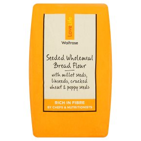 Waitrose LoveLife Calorie Controlled seeded wholemeal bread flour