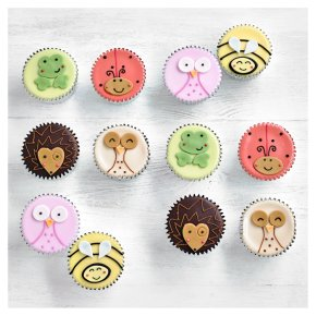 Fiona Cairns Woodland Friends Cupcakes