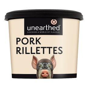 Unearthed pork rillettes