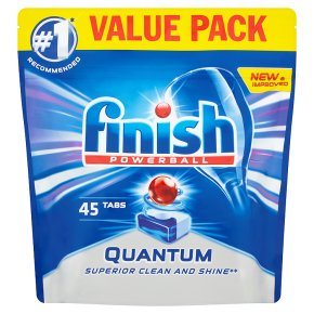 Finish Quantum 45 Dishwasher Tablets