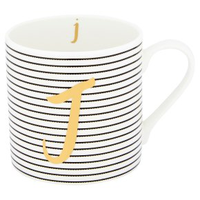 Waitrose 'J' Bone China Mug