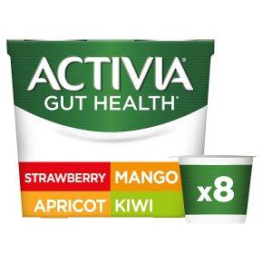 Activia Mango, Kiwi, Strawberry, Apricot
