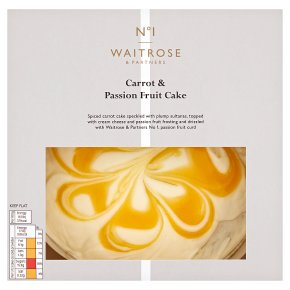 No.1 Carrot & Passionfruit Cake